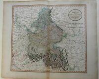 Bavarian Kreise Holy Roman Empire 1799 Cary oversized detailed map