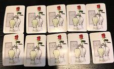 Lot 10 Waterford Lismore Perfume Samples