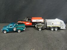 VINTAGE METAL TRUCK LOT 3 PC, SNAP-ON TOOLS, WASTE MANAGEMENT, LIBERTY CLASSICS