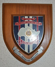 RTCO Royal Corps of Transport 28 Infantry Brigade Singapore plaque shield RCT