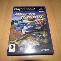 WORLD RACING - SONY PLAYSTATION 2 PS2 PAL UK