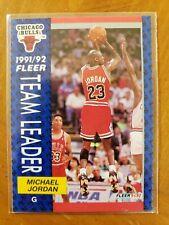 Michael Jordan 1992 Fleer Team Leader 375