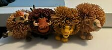 Vintage 1994 Disney Lion King Koosh Ball Simba Nala Pumba Timon Lot of 4!