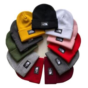 The North Face Mens / Ladies Knitted Wooly Beanie Hat Warm Ski Skull Cap 2021