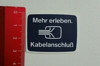 Aufkleber/Sticker: Kabelanschluß (07041635)