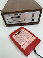 Columbia Solid State Stereo 8 track player Model 2692 & Tape-Head Demag Cleaner