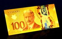 """★★ CANADA : BILLET POLYMER  """" OR """" DU 100 DOLLARS 2011  ★"""