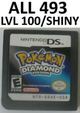 Pokemon Diamond DS lite DSi XL Game Unlocked All 493 3DS Shiny Event Arceus