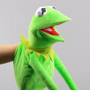 60cm Kermit the Frog Hand Puppet Full Body Muppet Sesame Street Plush Toy Prop