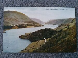 1917 Photochrom Celesque Series, Thirlmere & Helvellyn. Lake District