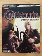 Brady Games Castlevania Portrait of Ruin Nintendo DS Official Strategy Guide