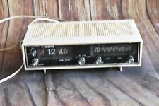 Manta rd-500 radio despertador-flip Clock vintage 70er