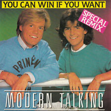 "Modern Talking ‎7"" You Can Win If You Want (Special Remix) - France"