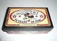 Upper Deck 2004 Sealed Disney 75th Anniversary Card Set