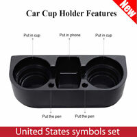 Universal Car Seat Drink Cup Holder Beverage Can Bottle Food Mount Stand Storage