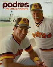1983 SAN DIEGO PADRES yearbook STEVE GARVEY & DICK WILLIAMS COVER