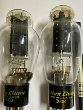 Western Electric 300B tube originally by WE not replica AT1000 measurement NOS