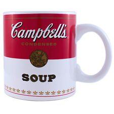 Campbells Soup 20oz Jumbo Ceramic Mug Andy Warhol Coffee Tea Cup Gift