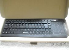 Wireless Multimedia 2.4G Keyboard +Mouse Touch pad Kit for Windows PC