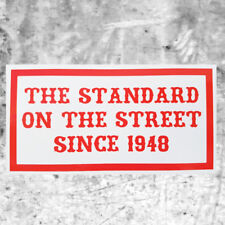 "Support 81 Sticker Aufkleber ""STANDARD ON THE STREET SINCE 1948"" HAMC North End"
