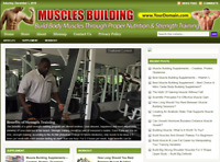 Muscle Build Nutrition & Training Store Website Free Installation + Free Hosting