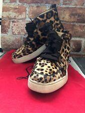 ebf9a804299 Christian Louboutin Mens Leopard Sneakers SIze 7.5