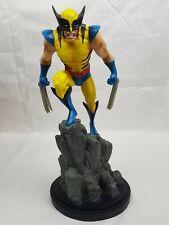 Custom Painted Marvel Wolverine Yellow Statue Bowen Designs Classic Version