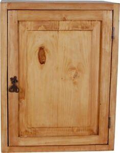 Hängeschrank Mexico Möbel 51x66x38 cm Landhausstil Massivholz Pinie Honig