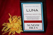 SUNDAY RILEY LUNA SLEEPING NIGHT OIL RETINOL BLUE TANSY FULLSIZE 1.18 OZ IN BOX