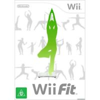 WII FIT GAME ONLY | Nintendo Wii Game | Good Condition | 3 MONTH WARRANTY