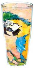 3pc TERVIS LEOMA LOVEGROVE 24oz Tumbler, Straw, Travel Lid Macaw Parrot Bird NEW