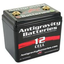 "ANTIGRAVITY 12-CELL LITHIUM MOTORCYCLE BATTERY 4.50"" x 3.12"" x 4.25"" 2.4 lbs"