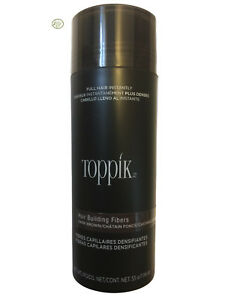 TOPPIK HAIR BUILDING FIBERS - GIANT 55G / 1.94 OZ - DARK BROWN