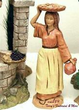 "Fontanini Depose Italy 5"" Lydia Nativity Village Figure 65339 New No Box"