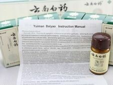 6 bottles(4g) Yunnan Baiyao Powder  Bottles First aid Stop Bleeding / Bruis