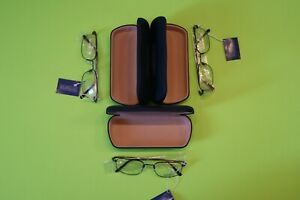 2 Bonus plus 3 QTY. Luxottica 6502 3004 (Brown) Men's Glasses Frames