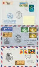 UNO 1977-83 3 schöne R-Briefe. Siehe Abbildungen.