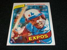 Montreal Expos HOF Andre Dawson Auto Signed 1980 Topps Card #235  TOUGH  N