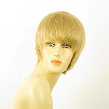 perruque femme 100% cheveux naturel courte blonde ref DOLLY 22