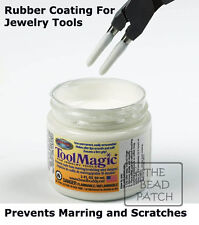 Tool Magic Rubber Coating For Jewelry Tools-Prevents Scratches Wire & Jump Rings