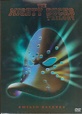 The Mighty Ducks 1-3 Box set (Region 3) Movie Emilio Estevez <Brand New DVD>