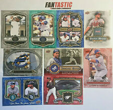 2009 & 2008 Upper Deck A Piece of History YOU PICK Base, Insert, Parallel cards