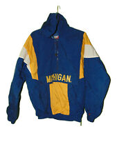 University Of Michigan Pull Over Jacket Small Men Wolverines