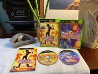 Dance Dance Revolution Ultramix 2 & 3 (Original Xbox Game Lot) RARE Bundle