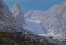 Rudolf Reschreiter Blaueisgletscher Blaueishütte Hochkalter Berchtesgaden Ramsau