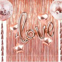 Door Curtain Foil Party Tinsel  Birthday Wedding Decorations Supplies CL