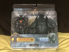 Pacific Rim GYPSY DANGER LEATHERBACK Jaeger Kaiju action figure 2 pack NECA New