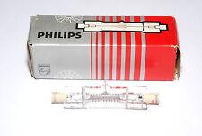PHILIPS 6366r Halogen Mini bacchetta BRUCIATORE 220v/800w attacco r7s (Nuovo/Scatola Originale)