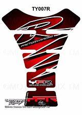 Yamaha YZF R1 / R6 Red Black Motorcycle Tank Pad Motografix 3D Gel Protector
