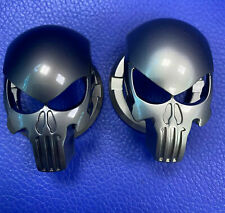 Car Engine Start Stop Ignition Push Button Cover Punisher Skull Switch Sticker